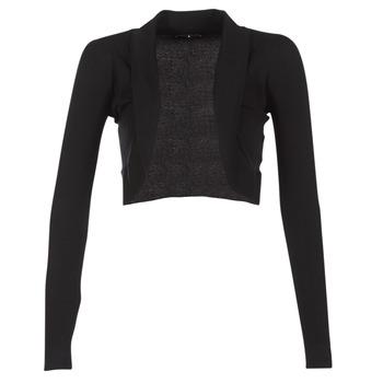 vaatteet Naiset Neuleet / Villatakit Morgan MOLU Black
