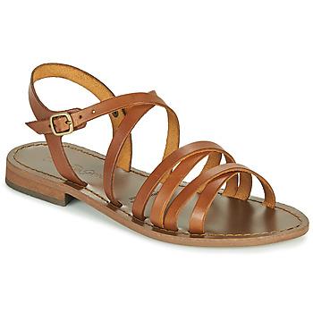 kengät Naiset Sandaalit ja avokkaat Dream in Green OBELLA Ruskea