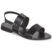 kengät Naiset Sandaalit ja avokkaat Dream in Green OBELLA Musta