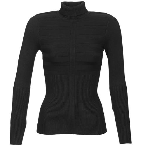 vaatteet Naiset Neulepusero Morgan MENTOS Black