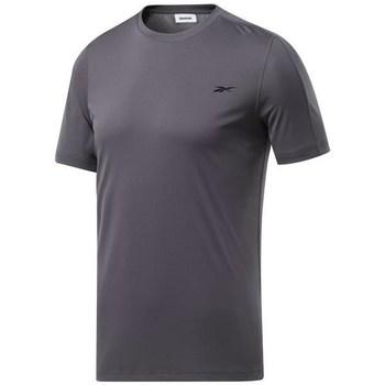 vaatteet Miehet Lyhythihainen t-paita Reebok Sport Wor Comm Tech Tee Grafiitin väriset