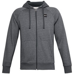 vaatteet Miehet Svetari Under Armour Rival Fleece FZ Hoodie Harmaat