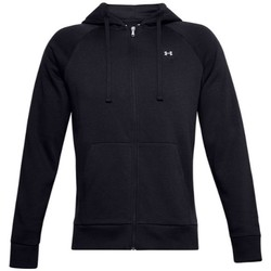 vaatteet Miehet Svetari Under Armour Rival Fleece FZ Hoodie Mustat