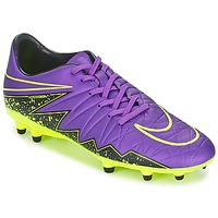 kengät Miehet Jalkapallokengät Nike HYPERVENOM PHELON II FG Violet