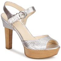 kengät Naiset Sandaalit ja avokkaat Fabi KAITE Argenté