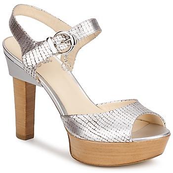 kengät Naiset Sandaalit ja avokkaat Fabi KAITE Hopea