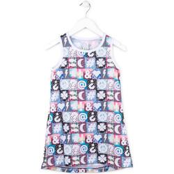 vaatteet Tytöt Lyhyt mekko Losan 714 7001AB Vaaleanpunainen