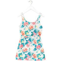 vaatteet Tytöt Lyhyt mekko Losan 714 7041AB Valkoinen