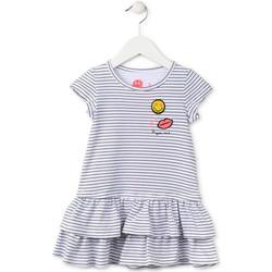 vaatteet Tytöt Lyhyt mekko Losan 716 7065AD Sininen