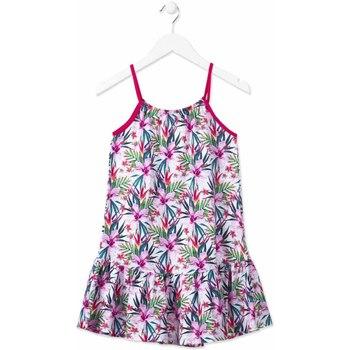 vaatteet Tytöt Lyhyt mekko Losan 814-7043AB Vaaleanpunainen