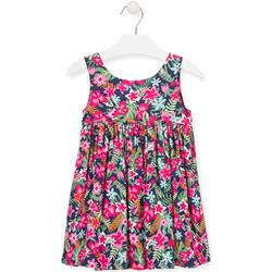vaatteet Tytöt Lyhyt mekko Losan 016-7036AL Vaaleanpunainen