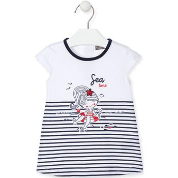 vaatteet Tytöt Lyhyt mekko Losan 018-7000AL Sininen