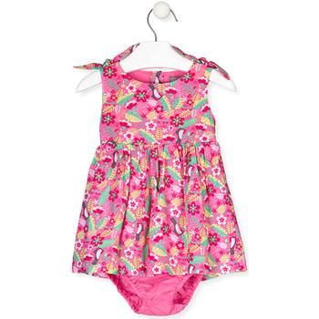 vaatteet Tytöt Mekot Losan 018-7006AL Vaaleanpunainen