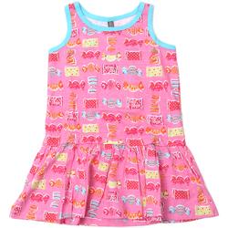 vaatteet Tytöt Lyhyt mekko Losan 816-7044AD Vaaleanpunainen