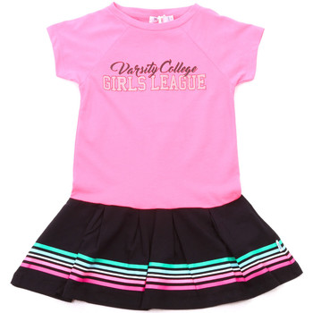 vaatteet Tytöt Lyhyt mekko Melby 70A5705 Vaaleanpunainen