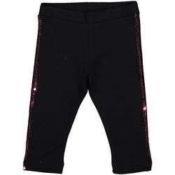 vaatteet Tytöt Legginsit Melby 20F2061 Musta