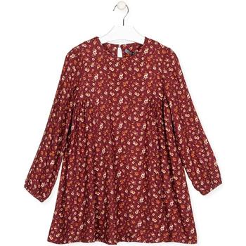 vaatteet Tytöt Lyhyt mekko Losan 024-7016AL Punainen