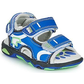 kengät Pojat Sandaalit ja avokkaat Primigi YANIS Sininen / Vihreä