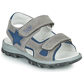 kengät Pojat Sandaalit ja avokkaat Primigi GRIMMI Harmaa / Sininen