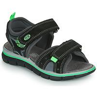 kengät Pojat Sandaalit ja avokkaat Primigi NOIRA Musta / Vihreä
