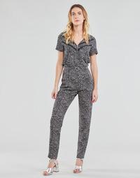 vaatteet Naiset Jumpsuits / Haalarit Ikks BS32005-02 Musta