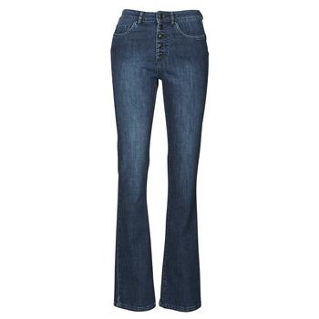 vaatteet Naiset Bootcut-farkut Ikks BS29135-45 Yö / Sininen