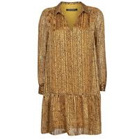 vaatteet Naiset Lyhyt mekko Ikks BS30195-75 Amber