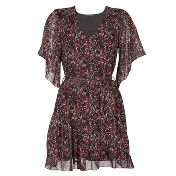 vaatteet Naiset Lyhyt mekko Ikks BS30205-02 Monivärinen