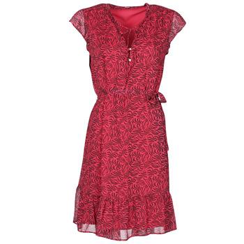vaatteet Naiset Lyhyt mekko Ikks BS30355-38 Raspberry