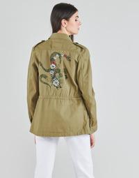 vaatteet Naiset Takit / Bleiserit Ikks BS41045-55 Vihreä / Haalea taivaansininen
