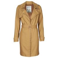 vaatteet Naiset Trenssitakki Ikks BS42025-63 Pähkinä