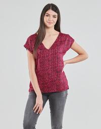 vaatteet Naiset Topit / Puserot Ikks BS11355-38 Raspberry
