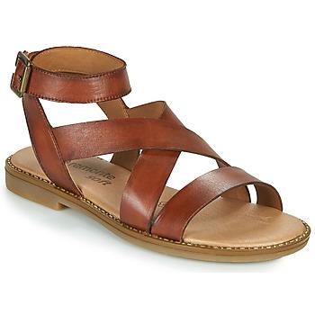 kengät Naiset Sandaalit ja avokkaat Remonte Dorndorf POLLY Ruskea