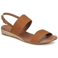 kengät Naiset Sandaalit ja avokkaat Casual Attitude OLIVE Kamelinruskea