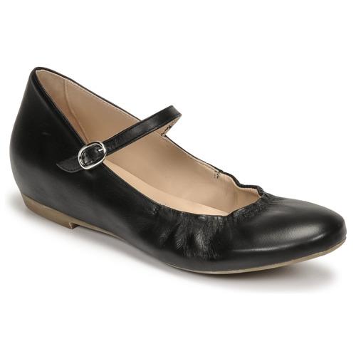kengät Naiset Balleriinat Casual Attitude OLIVIA Musta