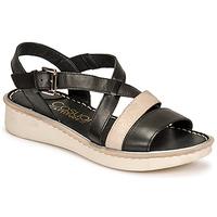 kengät Naiset Sandaalit ja avokkaat Casual Attitude ODETTE Musta / Kulta