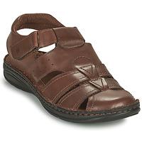 kengät Miehet Sandaalit ja avokkaat Casual Attitude ODOUNE Ruskea