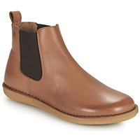 kengät Naiset Bootsit Casual Attitude ODILETTE Kamelinruskea