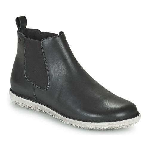 kengät Naiset Bootsit Casual Attitude ODILETTE Musta