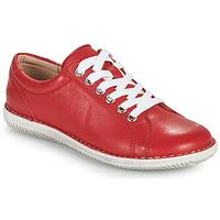 kengät Naiset Derby-kengät Casual Attitude OULETTE Punainen