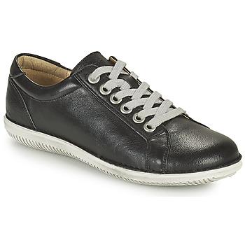 kengät Naiset Derby-kengät Casual Attitude OULETTE Musta