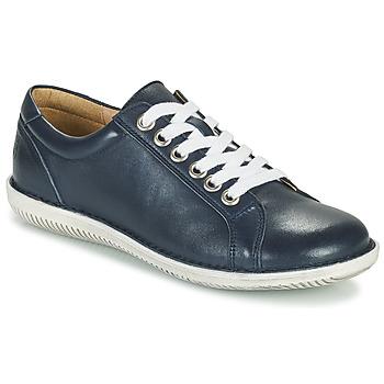 kengät Naiset Derby-kengät Casual Attitude OULETTE Laivastonsininen
