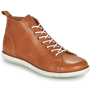 kengät Naiset Bootsit Casual Attitude OUETTE Kamelinruskea