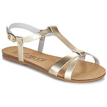 kengät Naiset Sandaalit ja avokkaat Casual Attitude JALIYAXE Kulta