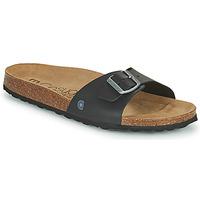 kengät Miehet Sandaalit Casual Attitude OMIU Musta