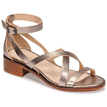 kengät Naiset Sandaalit ja avokkaat Casual Attitude COUTIL Pronssi