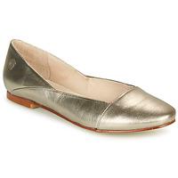 kengät Naiset Balleriinat Casual Attitude TOBALO Pronssi