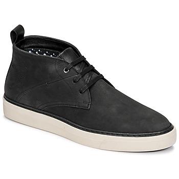 kengät Miehet Bootsit Casual Attitude OLEO Musta