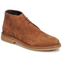kengät Miehet Bootsit Casual Attitude NETOINE Ruskea