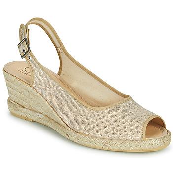 kengät Naiset Sandaalit ja avokkaat Casual Attitude MADELEINE Kulta